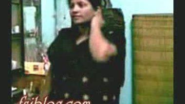 Horny bhabi with her devar in black churidar