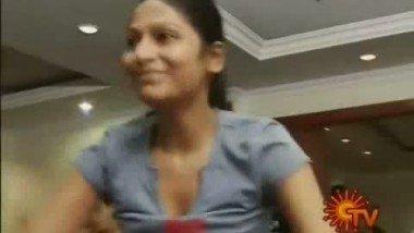 South Indian Actress Vijayalakshmi Dance Practice video