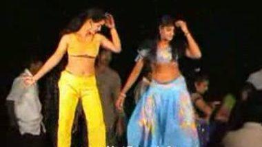 Telugu Hot Girls Night stage dance 10