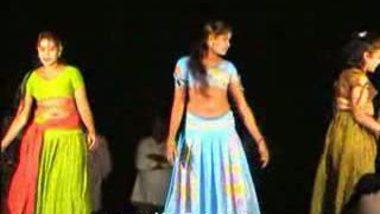 Telugu Hot Girls Night stage dance 13