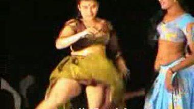 Telugu Hot Girls Night stage dance 14