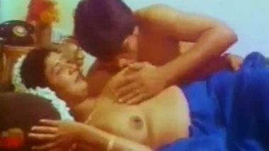 South Indian actress topless boob press masala