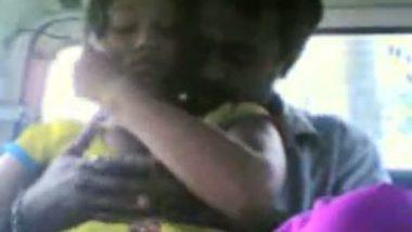 Bangladeshi couple making outdoor sex in car