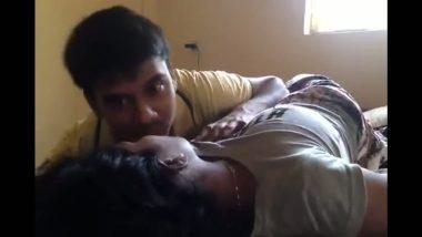 Big boobs Madurai girl smooches cousin brother