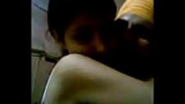 desi-punjabi couple making love