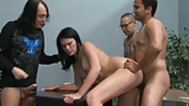 Indian Wife Fucked Her Husband and His Friends