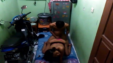 Cheating wife sex tape caught on hidden cam
