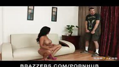 ravishing Indian MILF catches two pervs watching her masturbate