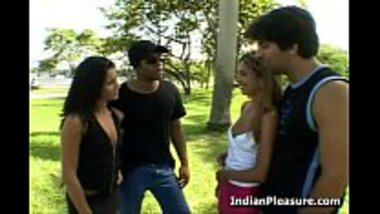 Desi Teen girls indulging in a group sex
