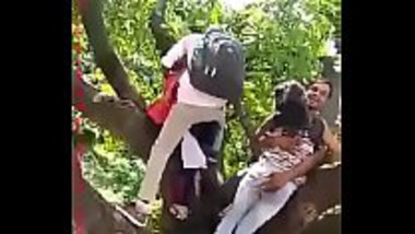 Desi teens having a good time in the park