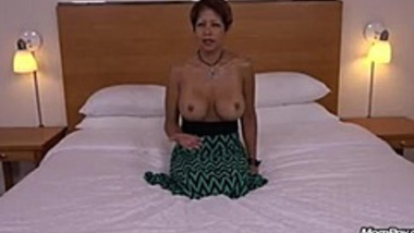 42 year old busty mixed Asian MILF