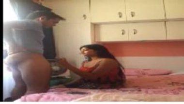 Mumbai Girl's Hot Blowjob To Bro's Mate