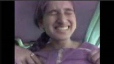 Horny And Sexy Punjabi Teen Rajvinder's Boobs Pressed