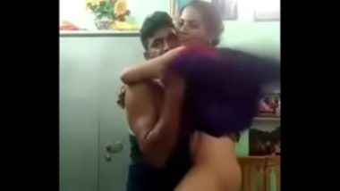 Hot indian maid fucked by boss at home