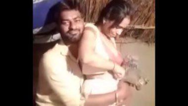 Madhya Pradesh Village Sexy Wife Saree Stripped