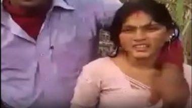 Desi village girl sex with lover in field