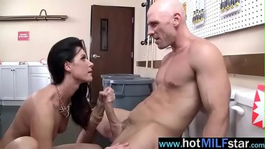 (india summer) Sexy Milf In Hard Style Sex On Big Dick clip-15