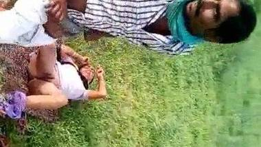 Open field XXX with local dehati randi caught by locals