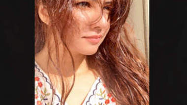 Pakistani Beautiful actress Rabi Pirzada Leaked Video Part 7
