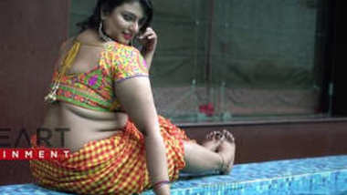 Desi village hot bbw wife sexy photoshoot