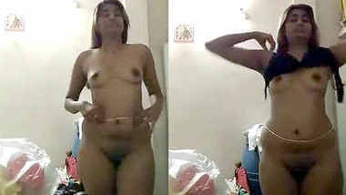 new desi swati naidu dress change and full showing nude