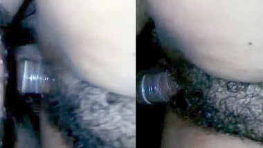 Desi wife hairy pussy fucked condom cover dick by hubby 2