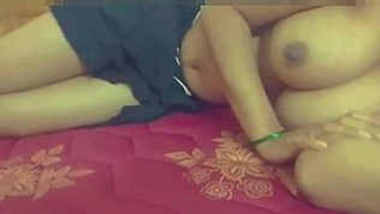 Indian Wife Boob And pussy Capture by husband