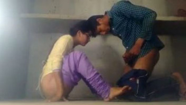 Brother and sister enjoy incest sex in their new house