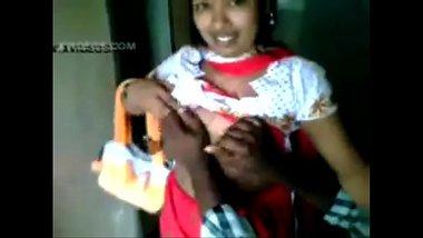 Bengali Randi Lets The Guy Press Boobs