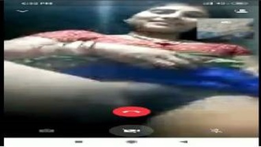 Indian Wife Showing Pussy On Video Call