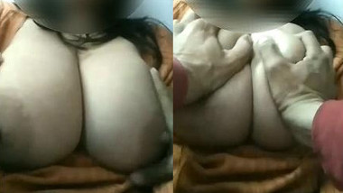 Indian Bhabhi Boobs Pressing By Hubby