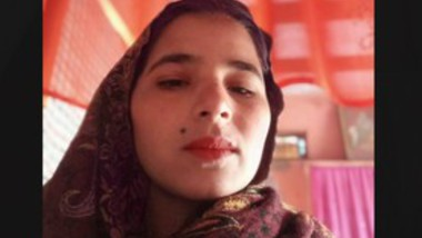 Desi beautiful girl selfie video making