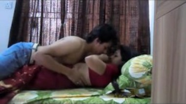 Sexy Saali in saree rides at Jija big dick for incest Indian fuck at home