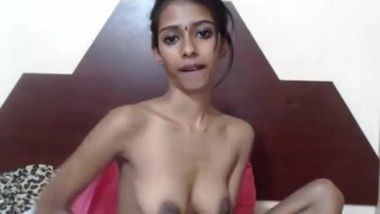 Desi / Indian girl XXX webcam sex show for her client video