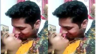 Married Indian couple finally decides to practice sex on camera