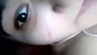 Naked Desi MMS selfie video call leaked online