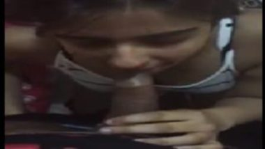 Rich indian girl drinking cum after blowjob
