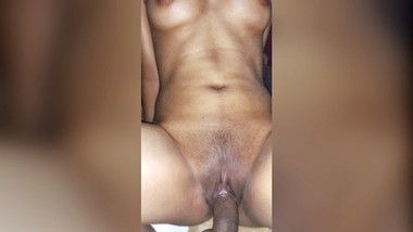 Horny & Wet Indian Girlfriend Rides Her Boyfriend's Dick In Cowgirl Position