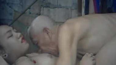 Lucky OldMan Fucking Young Desi Tribal Girl