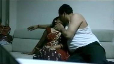 Desi tamil housewife in saree fucking Husband...