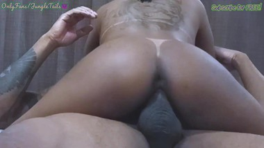 JungleTails- Teen Native Brazilian 18 Tattooed and Tan Lines. Short version, Full Video Available