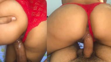 Newly married couple leak their sex tape - අලුතෙන් බැදපු කපල් එකක් ලීක් කරගෙන